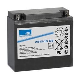 EXIDE Sonnenschein 12V - 16Ah - Dryfit A500 - G5 - A512/16G5