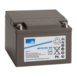 EXIDE Sonnenschein 12V - 25Ah - Dryfit A500 - G5 - A512/25G5