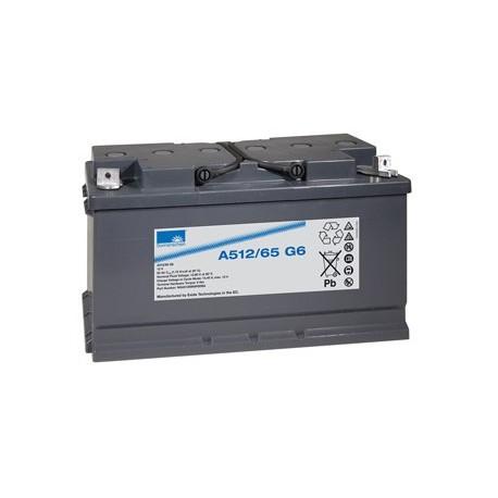 EXIDE Sonnenschein 12V - 65Ah - Dryfit A500 - G6 - A512/65G6