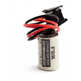 CHRONO Pile lithium CR14250 - 1/2AA - 3V - 850mAh + Connecteur