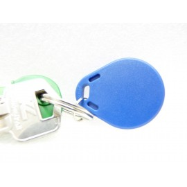 DAITEM Compatible Badge Transpondeur Alarme - 125khz - Finition Plastique - Compatible DAITEM TAGID