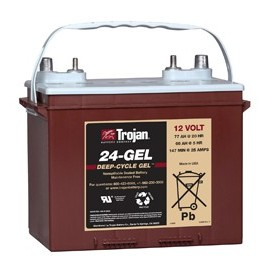TROJAN 12V - 77Ah - 24TMX GEL - DEEP CYCLE GEL