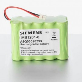 CHRONO Batterie Alarme Compatible SIEMENS - AA - 12.0V - 1800mAh + Connecteur