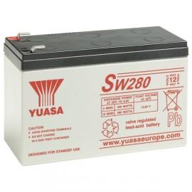 YUASA 12V - 7Ah - SW280 / NPW45-12 - AGM - Spécial ONDULEUR