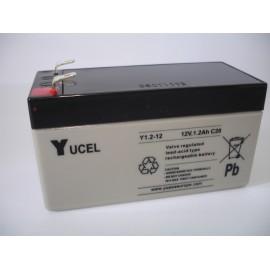 YUASA / YUCEL 12V - 1.2Ah - Y1.2-12 - AGM