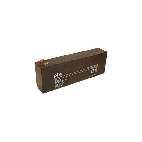 MULTIPOWER 12V - 2.4Ah - MP2,4-12C - AGM - Compatible PBQ2.6-12 - CP2.6-12