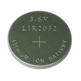 CHRONO LIR2032 - Pile rechargeable Lithium - 3.6V - 40mAh