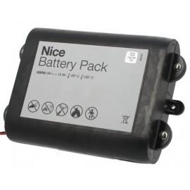 CHRONO Pile Batterie Alarme Compatible NICE HSCU1GCFR - 6LR20 Alcaline - 9V - 18Ah + Connecteur