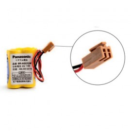 PANASONIC Pack pile lithium BRA - 6V - 1800mAh + connecteur marron