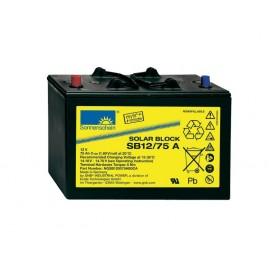 EXIDE SOLAR - SB12/75A - 12V - 75Ah