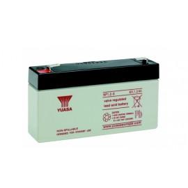 YUASA Batterie plomb - AGM - NP1.2-6 - 6V, 1.2Ah