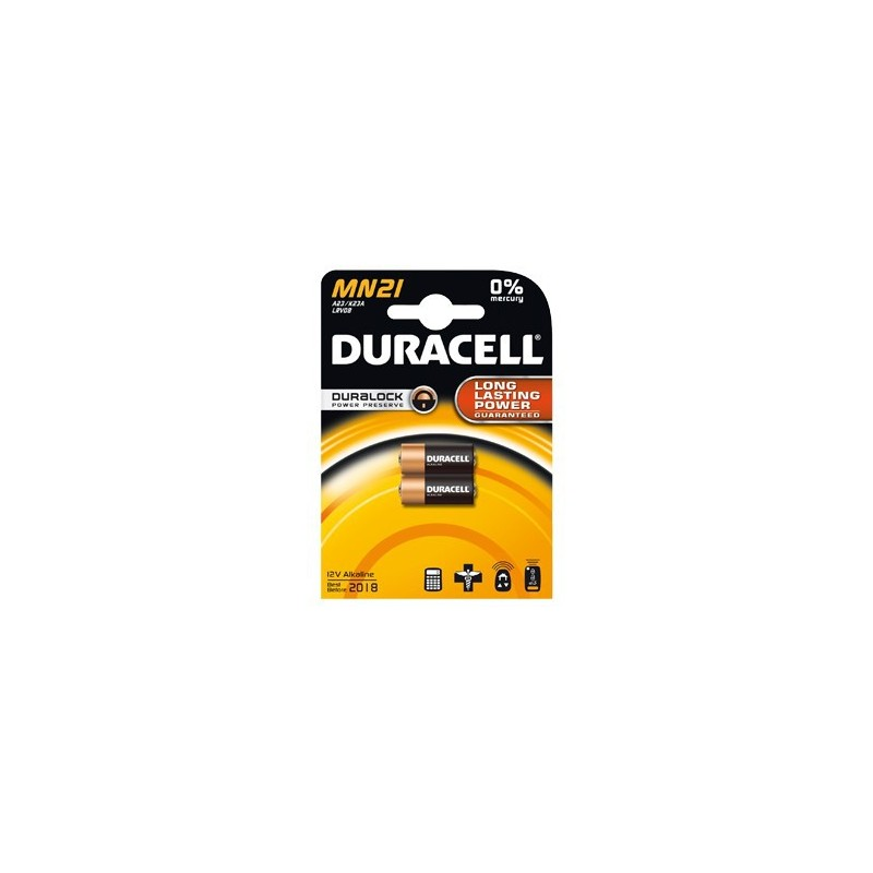 duracell 23a gp23a mn21 l1028 8lr932 lrv08 a23 blister x 2. Black Bedroom Furniture Sets. Home Design Ideas