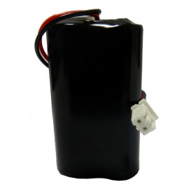 Pile Lithium Compatible HYDREKA - AA - ER14500 - 7.2V - 2.6A + Connecteur