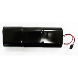 CHRONO Pile Batterie Alarme Piscine Compatible DSP10 - S5 - 6LR20 Alcaline - 9V - 18Ah + Connecteur