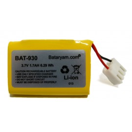 CHRONO Batterie Compatible TPE SAGEM/MONETEL - 3,7V - 1.7Ah – Li-Ion - Série EFT 930 - EFT 20 s - 252117847