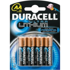 DURACELL - LR06 - AA Ultra Lithium - Blister x4