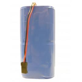 CHRONO Pile Batterie Alarme Compatible RESIDENCIA / Surtec - D - LSH20 - 7.2V - 26.0Ah + Connecteur