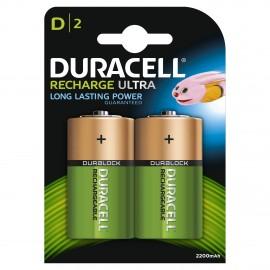 DURACELL HR20 - D 2200mAh - Blister x 2