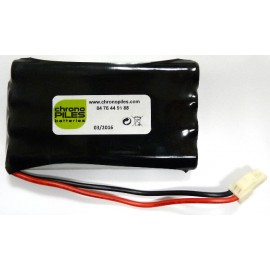CHRONO Pack Batterie NiMh - 9.6V - 800mAh + Connecteur - SOMFY