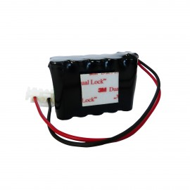 CHRONO PACK Batterie NiMh 12V - 800mAh + Connecteur 4pts - Portes RECORD