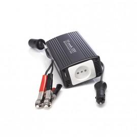 Chargeur convertisseur voiture 12v 220V 300W + sortie USB