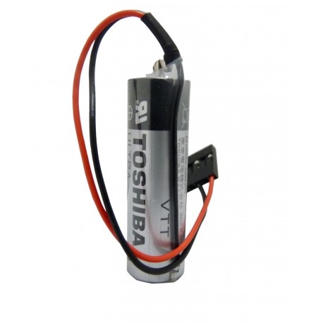 CHRONO Pile lithium ER6V - 3.6V - 2450mAh + connecteur