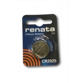 RENATA Pile Bouton Lithium - CR2025 Standard