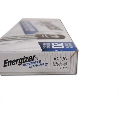 ENERGIZER L91 - Format LR6 - AA Ultimate - Boite de 10