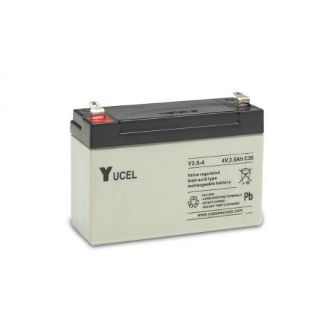 YUASA / YUCEL 4V - 3.5Ah - Y3.5-4