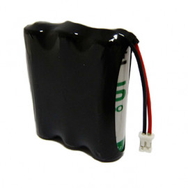 CHRONO Pack Pile Lithium 3.6V 7.8Ah + Connecteur – Delta Dore CS8000 –Tyxal +